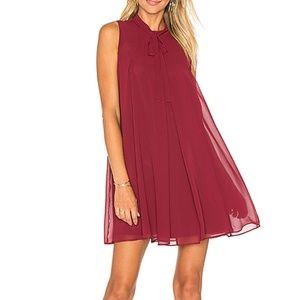 BCBG Red Mini Tank Dress